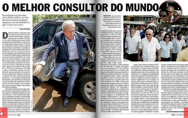 DIRCEU, O MAIOR CONSULTOR DO MUNDO 1