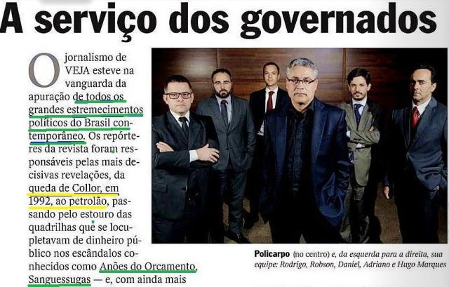 A SERVIÇO DOS GOVERNADOS, Veja, editorial, 1ºjul15, parte 1