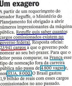 CABA NÃO, MUNDÃO,cargos,vEJA 08 JUL 15