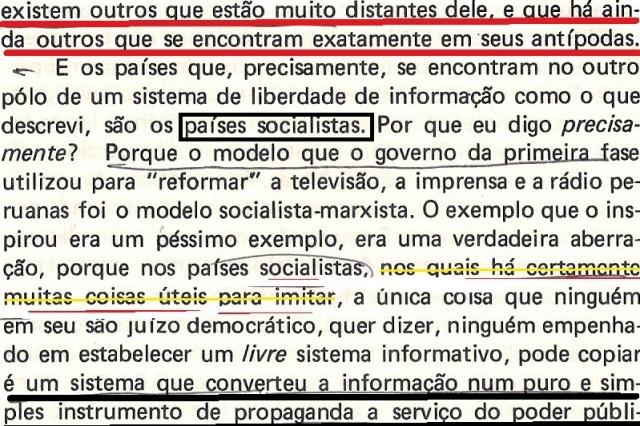 VARGAS lLHOSA, CONTRA VENTO E MARÉ, LIBERDADE DE INFORMAÇÃO,fl.286, parte 1