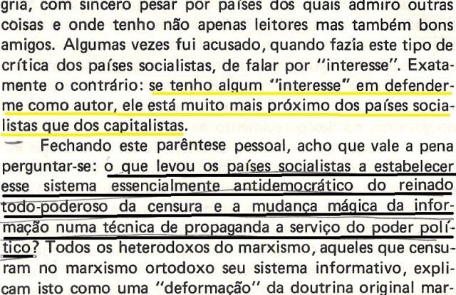 VARGAS lLHOSA, CONTRA VENTO E MARÉ, LIBERDADE DE INFORMAÇÃO,fl.288, parte 1