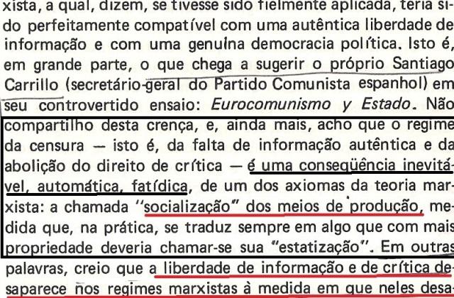 VARGAS lLHOSA, CONTRA VENTO E MARÉ, LIBERDADE DE INFORMAÇÃO,fl.288, parte 2