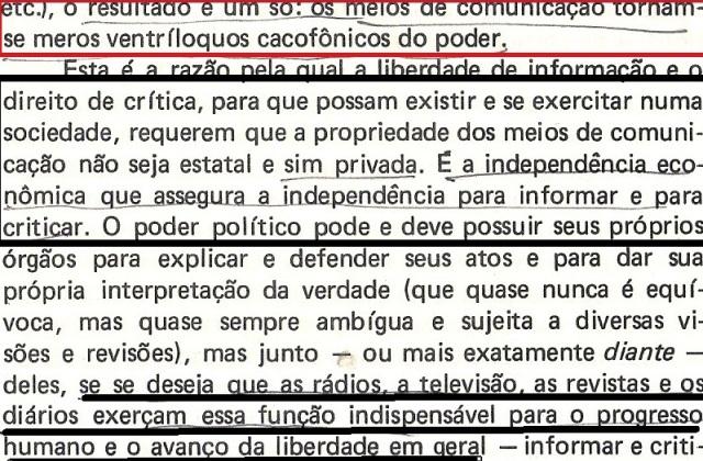 VARGAS lLHOSA, CONTRA VENTO E MARÉ, LIBERDADE DE INFORMAÇÃO,fl.290, parte1