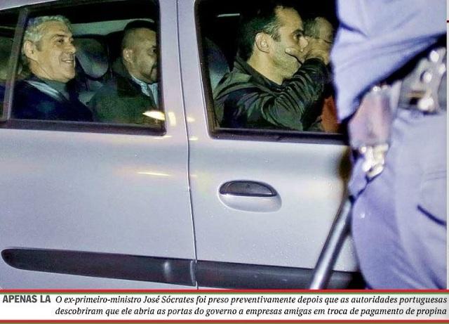 LAVA-JATO E A FACE OCULTA 2, o primeiro ministro preso