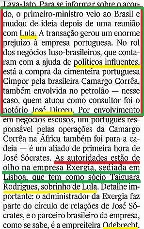 LAVA-JATO E A FACE OCULTA 9, Lula, dirceu...
