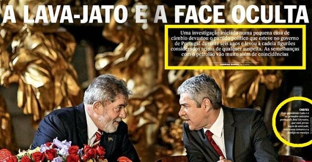 Lula e primeiro minstro português já preso