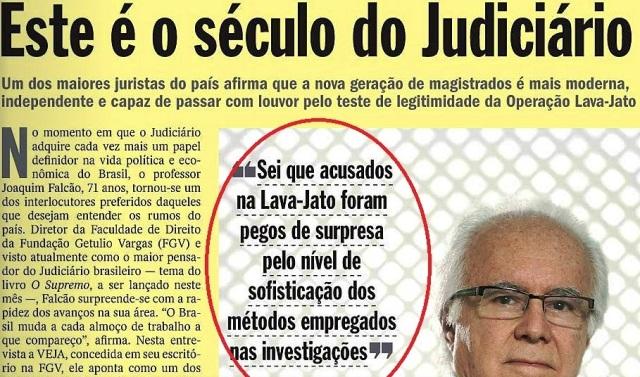 veja, 09 set15, página amarela JOAQUIM FALCÃO