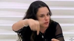 JANAÍNA PASCOAL E HÉLIO BICUDO, RODA VIVA, 15, apontando o dedo