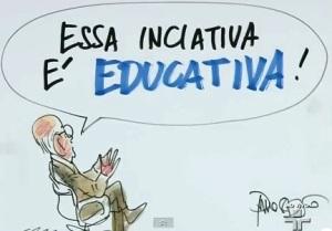 JANAÍNA PASCOAL E HÉLIO BICUDO, RODA VIVA, 19, charge SAÍDA EDUCATIVA