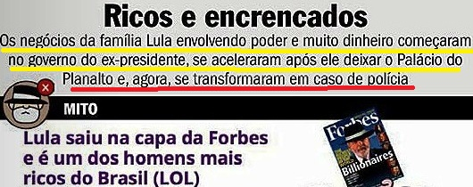 lula, RICOS E ENCRENCADOS, Veja 14nov15, 2