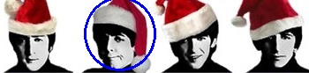 beatles, papai noel