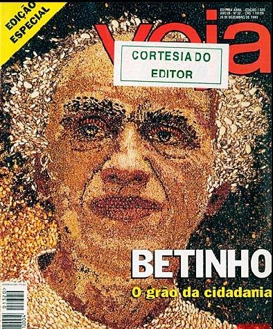 betinho, capa de Veja dez 1993