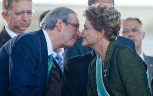 Eduardo Cunha e Dilma, o beijo da morte