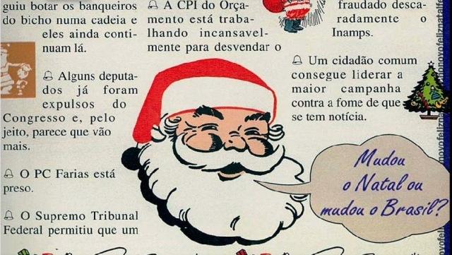 FELIZ NATAL 2, um natal diferente, Veja, 29 dez1993