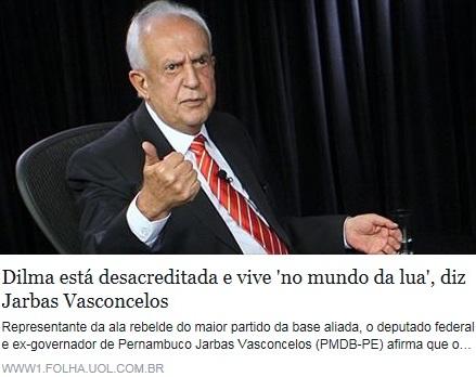 JARBAS VASCONCELOS, FOTO EMANCHETE, folha, 26out15