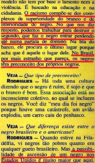 JOÃO JORGE 12, OLUDUM, AMARELAS, VEJA MAIO1993