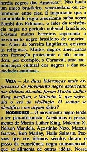 JOÃO JORGE 15, OLUDUM, AMARELAS, VEJA MAIO1993