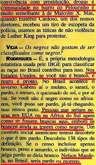 JOÃO JORGE 16, OLUDUM, AMARELAS, VEJA MAIO1993