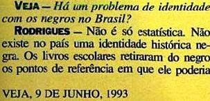 JOÃO JORGE 17, OLUDUM, AMARELAS, VEJA MAIO1993
