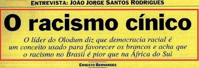 JOÃO JORGE, OLUDUM, AMARELAS 1, VEJA MAIO1993
