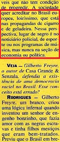 JOÃO JORGE, OLUDUM, AMARELAS 4, VEJA MAIO1993
