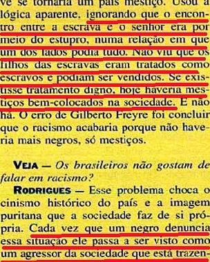 JOÃO JORGE, OLUDUM, AMARELAS 5, VEJA MAIO1993