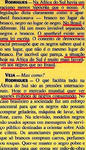 JOÃO JORGE, OLUDUM, AMARELAS 7, VEJA MAIO1993