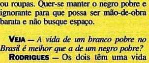 JOÃO JORGE, OLUDUM, AMARELAS 8, VEJA MAIO1993