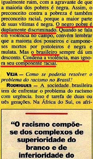 JOÃO JORGE, OLUDUM, AMARELAS 9, VEJA MAIO1993
