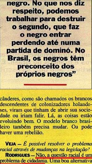 JOÃO JORGE, OLUDUM, AMARELAS 10, VEJA MAIO1993