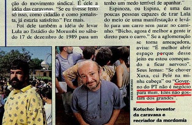 lula, em marcha 3 com velhos amigos, Veja 20mar1994