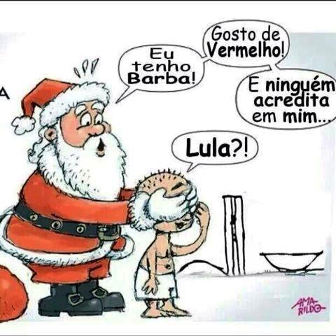 lula, papai noel