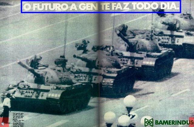 O FUTURO, COMERCIAL BAMERINDUS, CHINA...