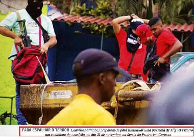 VENEZUELA, TERROR3, Veja, 02nov15