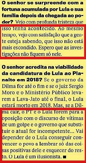 CRISTÓVÃO BUARQUE 16, páginas amarelas, Veja 20jan16