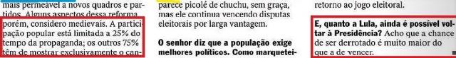 marqueteiro Renato Pereira, 12 , Veja 09dez15
