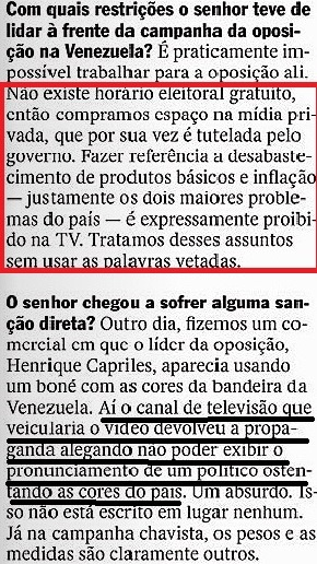 marqueteiro Renato Pereira 2, Veja 09dez15