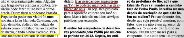marqueteiro Renato Pereira, 8 , Veja 09dez15