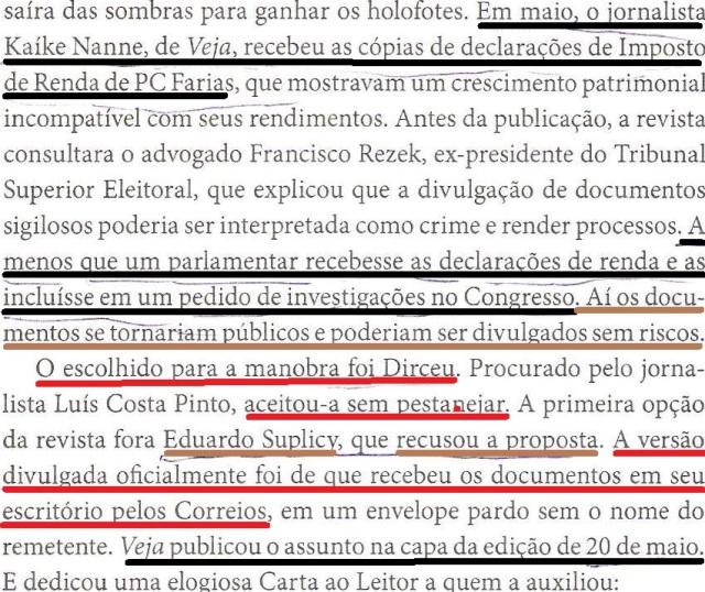 dirceu colabora com Veja, OTÁVIO CABRAL, 138 001