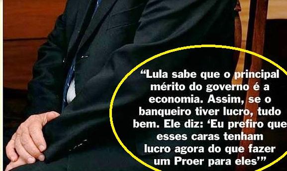 Gilberto Carvalho, Veja, amarelas 3, BANQUEIROS, 2008