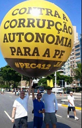 PROTESTOS, autornomia pf