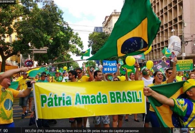 PROTESTOS, Belém, PA