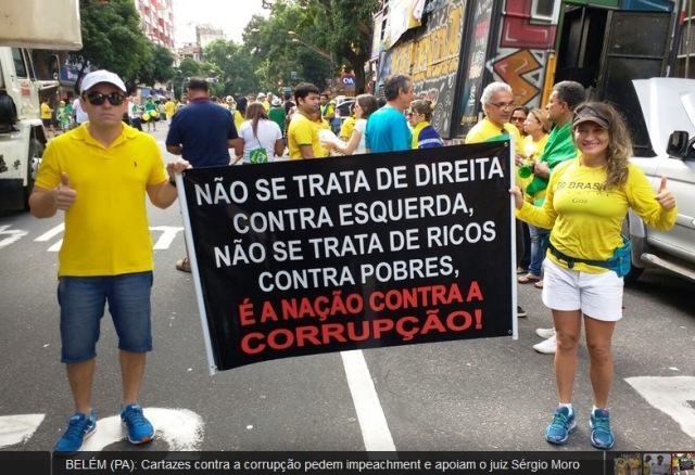 PROTESTOS, o brasil contra a corrupção