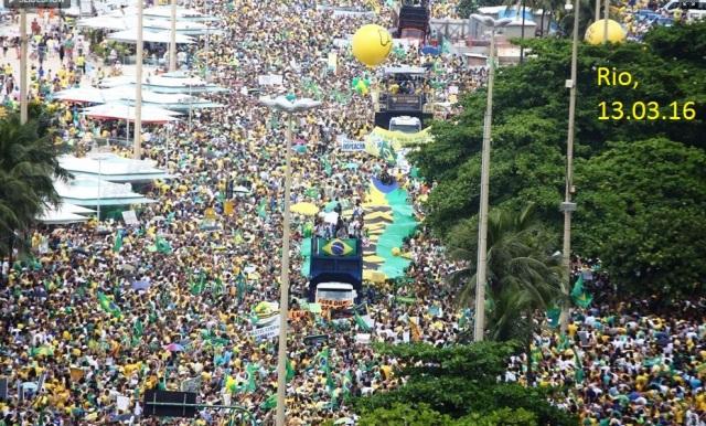 PROTESTOS, Rio