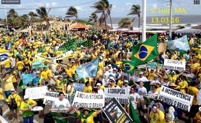 PROTESTOS, São luiz MA