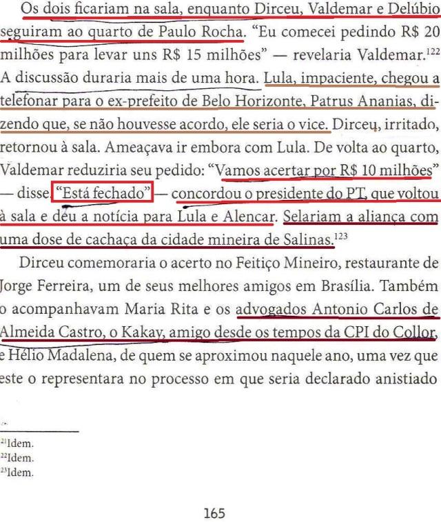 DIRCEU, A BIOGRAFIA, fl. 165 , TÁ FECHADO, KAKAI...