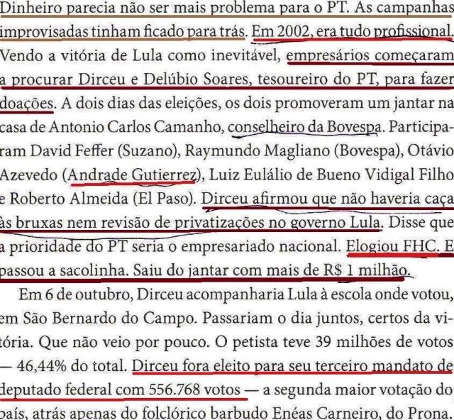 DIRCEU, A BIOGRAFIA, fl. 170, dinheiro, tudo profissional 001