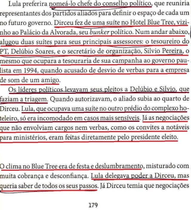 DIRCEU, A BIOGRAFIA, fl. 179, LULA, DIRCEU, SILVINHO, DELÚBIO 001