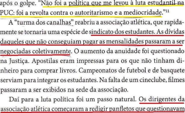 dirceu, a abiorgrafia, FL. 26, NASCE O POLÍTICO DE ESQUERDA