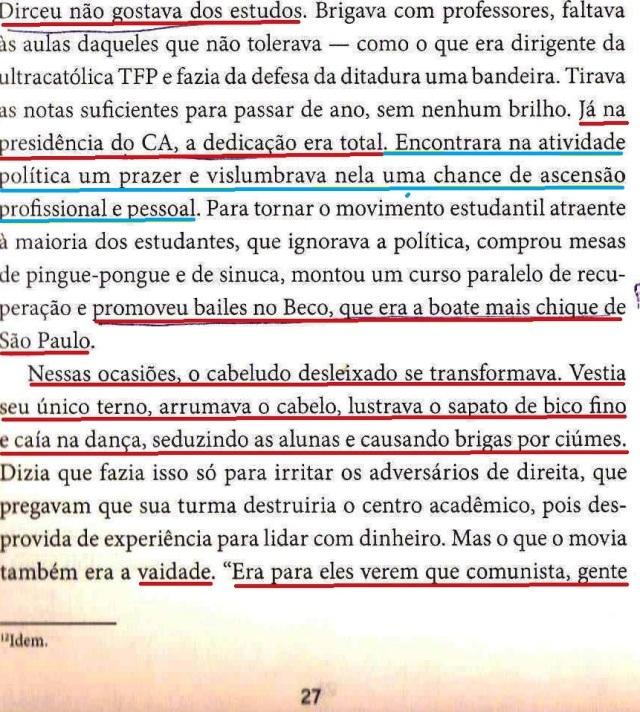 DIRCEU, A BIOGRAFIA, fl.27, BOATE, DANÇA